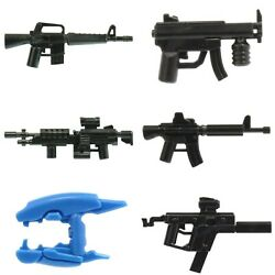 Brick Tactical Custom Weapons For Minifigures -pick Style- New Cod Spartans