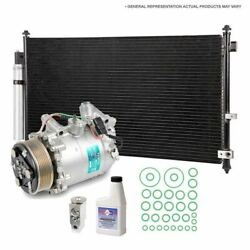 For Ford Focus 2012 2013 2014 2015 Oem Ac Compressor W/ Condenser Drier Tcp