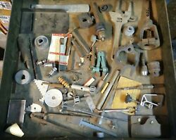 Old Used Vintage Woodworking Tools  Drill Press Drawer