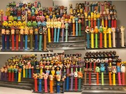 Huge Pez Lot Collection Dispensers Stands Accessories Retired Sets 1000+ Items