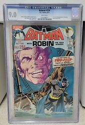 Batman 234 1971 Cgc 9.0 - 1st Silver Age Appearance Of Two-face Dc Comics Key