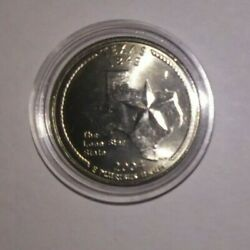 Texas - 2004 - P Mint - State Quarter Uncirculated + Coin Capsule
