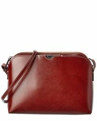 The Row Multi Pouch Leather Crossbody Women#x27;s $699.99