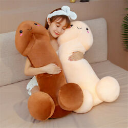 Long Funny Dick Doll Plush Penis Toy Soft Stuffed Sleeping Pillow Gifts Comfort