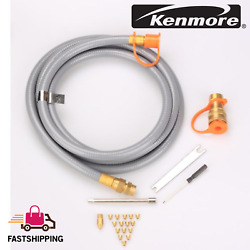 Kenmore Natural Gas Conversion Kit Elite Duel Fuel Grills Hose And Adapters Set