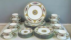 Starter Dinner Service For 8 Wedgwood Columbia Pattern W595 Excellent 40pc