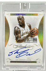 🔥🚨14andrsquo-15andrsquo Panini Flawless Shaquille Oandrsquoneal On Card Auto. True One Of One🚨🔥