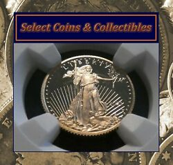 2021 W Gold 5 Eagle 1/10 Oz Ngc Pf 70 Ultra Cameo Type-1 Early Releases 1063