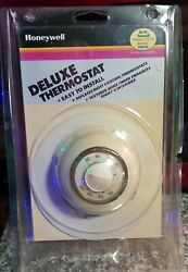 Vintage 1985 Honeywell Heating/cool Thermostat The Round Usa New In Bubble Pack