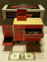 1/8 Scale Toy Snap On Diecast Tool Box Garage