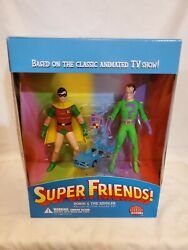 Dc Direct Super Friends Robin And The Riddler Deluxe 2-pack Andmdash Great Shape