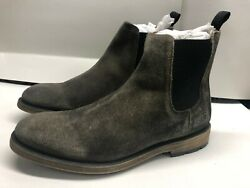 Frye Bowery Men's 8.5 Fits Like 9 Or 9.5 Chelsea Boot Faded Black 80534