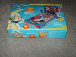 Toy Story Lighted Tabletop Pinball Machine Buzzlight Battle For The Galaxy Box