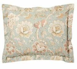 Rare 2 Pottery Barn Whitney Floral Light Blue Pillow Shams Cases Andmdash Sold Out