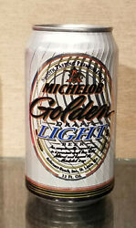 1998 Bottom Open Fluted Michelob Golden Light Stay Tab Beer Can St Louis Mo Ab