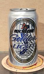 2005 Fluted Michelob Golden Light Draft Stay Tab Beer Can St Louis Missouri Ab