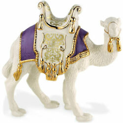 Lenox First Blessing Nativity Standing Camel Figurine Purple Saddle Rare New