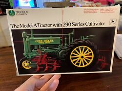 John Deere Model A With 290 Series Cultivator Toy Tractor, Precision Series 2