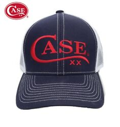 Case XX Hat Ball cap Navy Summer design with embroidered CASE knives Logo