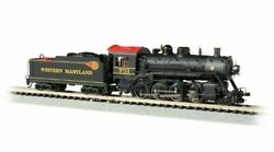 Bachmann 51355 N Scale Western Maryland 751 2-8-0 Consolidation Dcc And Sound
