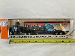 Con-cor / Herpa 500 Years Tractor Trailer Nyc/liberty Ho Scale New