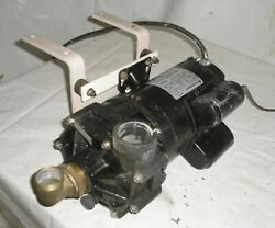 Franklin Electric Motor 3450 Rpm 1 Hp W Water Pump And Pressure Switch