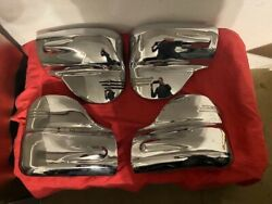 1941 Buick Elephant Ears Rechromed Set Of 4 With Mounting Hardware
