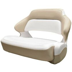 Robalo Boat Helm Seat 31.00981   R317 Extra Wide Bolster White Beige
