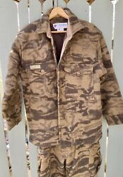 Columbia Gallatin Wool Blend Camo Jacket And Pants Size L