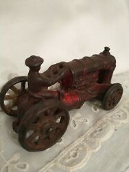Vintage 1920 Cast Iron Fordson Farm Tractor Toy