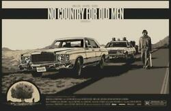 No Country For Old Men By Ken Taylor Screen Printed Movie Poster Not Mondo