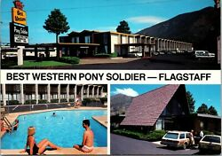 Best Western Pony Soldier Flagstaff Arizona Swimsuits Station Wagon Old Cars