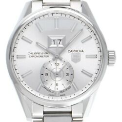 Tag Heuer Carrera War5011.ba0723 Automatic Silver Stainless Round Analog Men 174