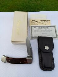 Vintage Schrade Lb5 Knife Uncle Henry Lockback Usa 1980and039s W/case Box Papers