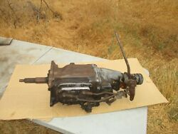 1962 Gm Chevy T10 Borg Warner 4 Speed Transmission With Shifter Linkage