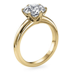 Real 1 Carat Diamond Ring 14k Yellow Gold Solitaire Si2 F Msrp 9650 00251510