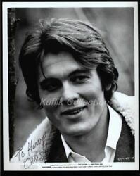 Christopher Jones - Signed Vintage Celebrity Autograph Photo - Wild In The Stree