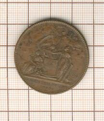 10064 Medal Bronze Confederate Of Franandccedilois By Gatteaux 1790