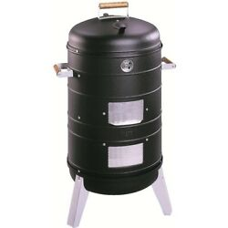 Americana By Meco 2 In 1 Charcoal Water Smoker Grill