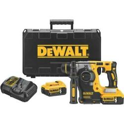 Dewalt Dch273p2 20v Max Brushless Sds Rotary Hammer With 5 Ah Batteries New