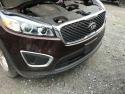 Front Bumper Two Piece Bumper Without Fog Lamps Fits 16-18 Sorento 2903499