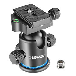 Neewer Pro Metal Tripod Ball Head Panoramic With 1/4 Inch Quick Shoe Plate