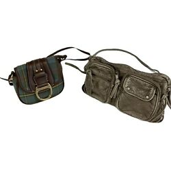Lot of two Women's crossbody bags American Living And American Eagle Outfitters $28.00