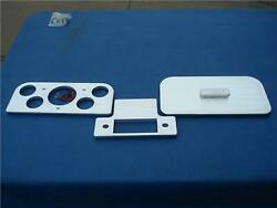 1937 - 1938 Ford Complete Dash Aluminum Insert Springfield Street Rods Nice