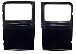 1932 1933 1934 Ford Truck Doors Both Sides Pair - Beautiful Reproduction