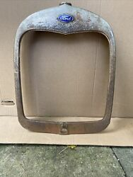 1928 1929 Model A Ford Radiator Shell Grill Grille Original Roadster 28 29 3