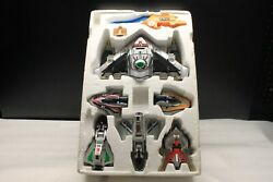 Rare Power Rangers Time Force And Shadow Megazord Lot Deluxe