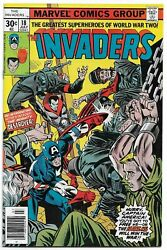 Invaders 18 July 1977 Marvel Comics 1st Appearance Mighty Destroyer Vf+