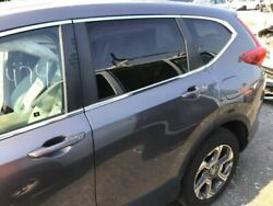 Driver Rear Side Door Electric With Privacy Tint Glass Fits 17-18 Cr-v Grey