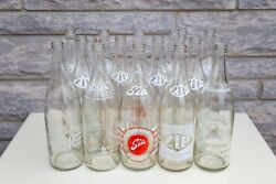 14 Vintage 30oz Bottles From Toronto, Early 20th Century - Roma, Size, Zip, Inte